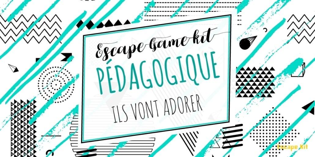 Escape Game pédagogique a faire dans une école