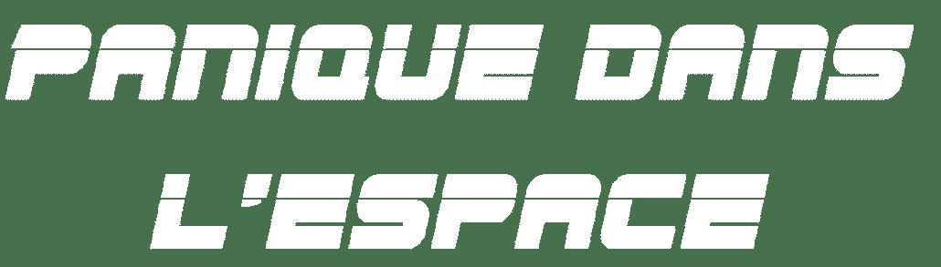 Panique dans l'espace logo