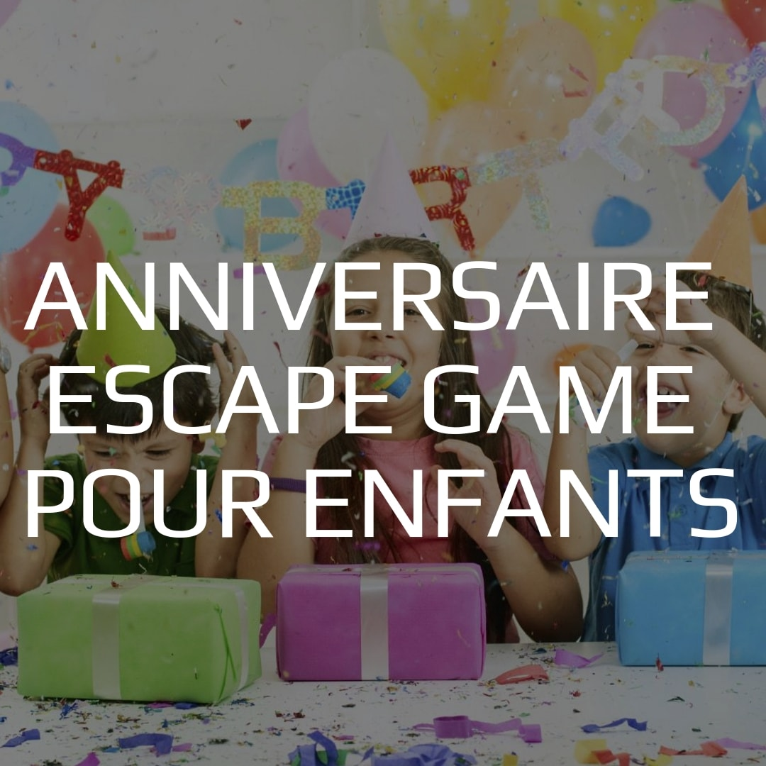 Escape Game Pour Enfants Anniversaire Escape Kit