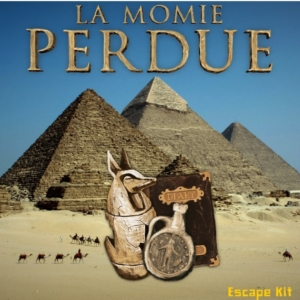 LA momie perdue Escape Game maison