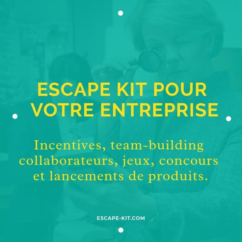Escape Game kit Entreprise