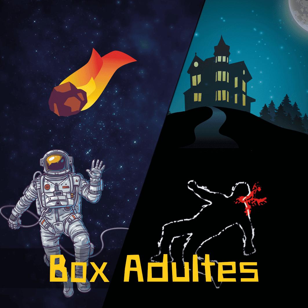 Escape Game box adultes