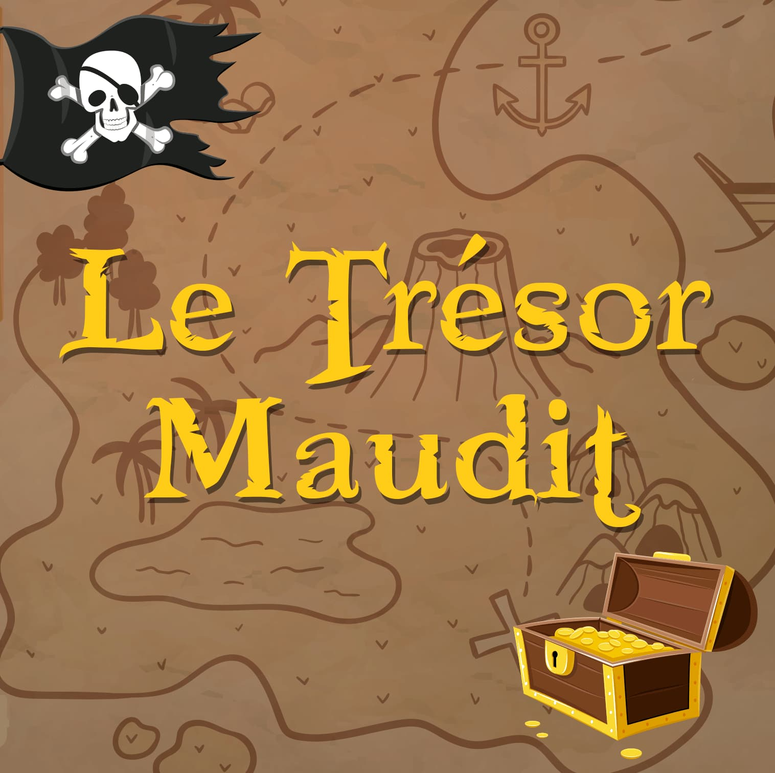 LE trésor Maudit Escape Game enfants