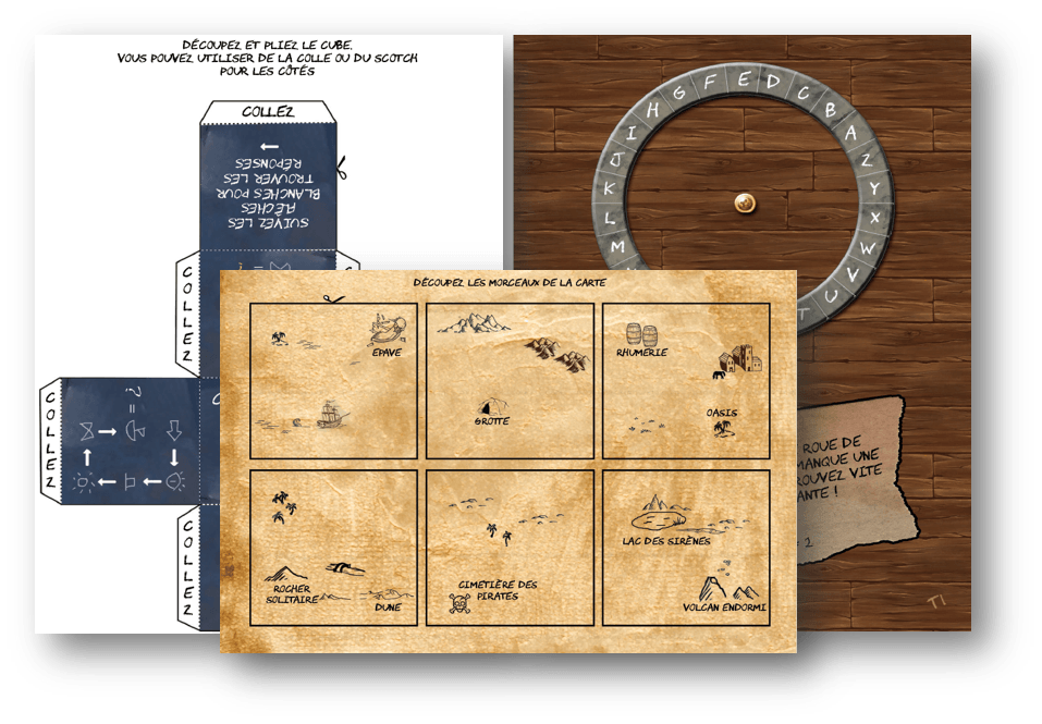 Escape Kit pirate
