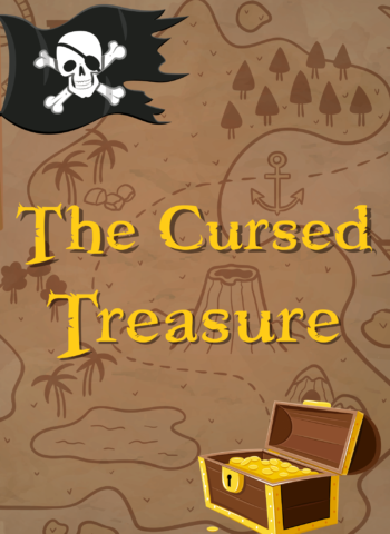 The Currsed Treasure Escape Room kit