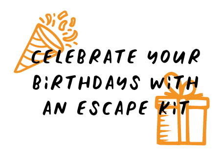 Celebrate your birthday escape room