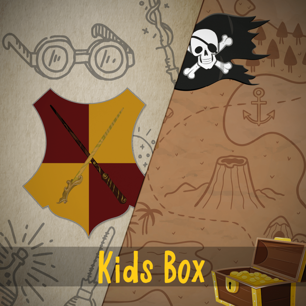 Kids Escape Room Box