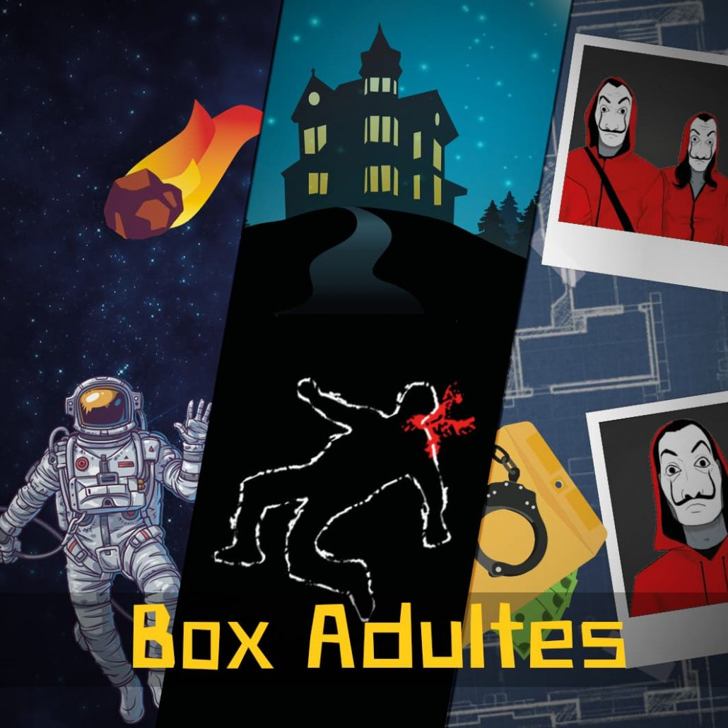 Escape Game Maison Box Adulte