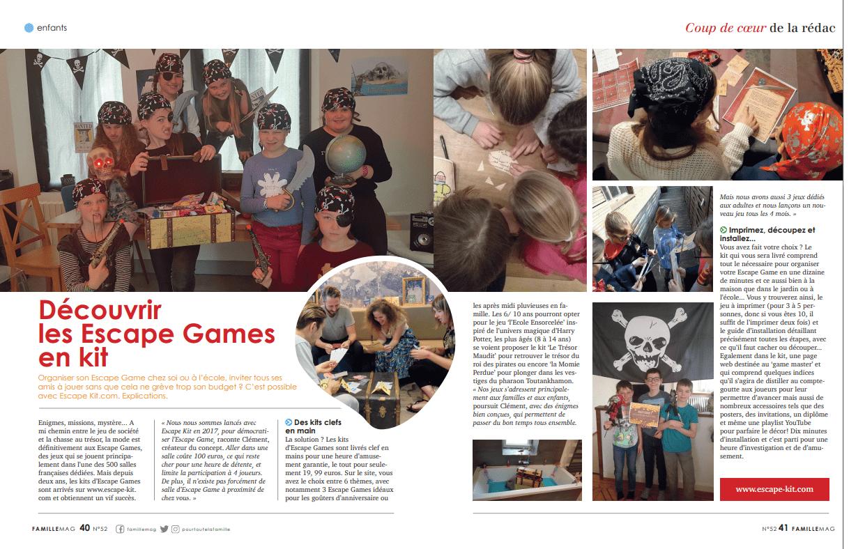 Family Mag Escape Game MAison