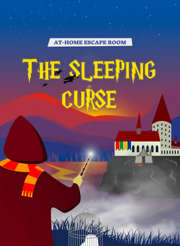 The sleeping curse harry potter game kids escape room
