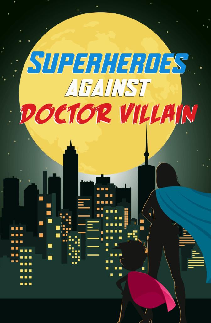 Superhero escape room