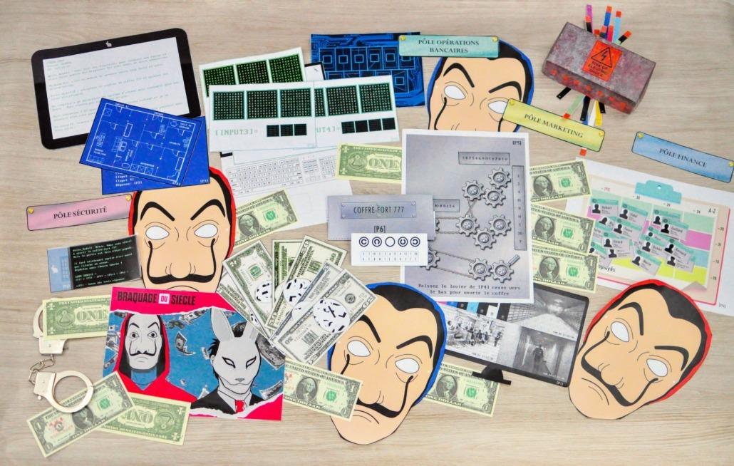 Escape Game casa de papel