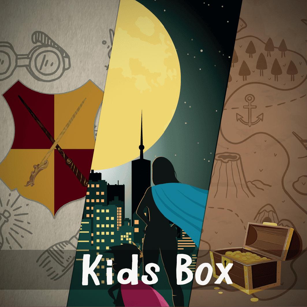 Kids box escape room