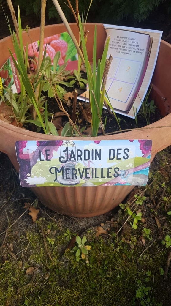 Escape game enfants jardin