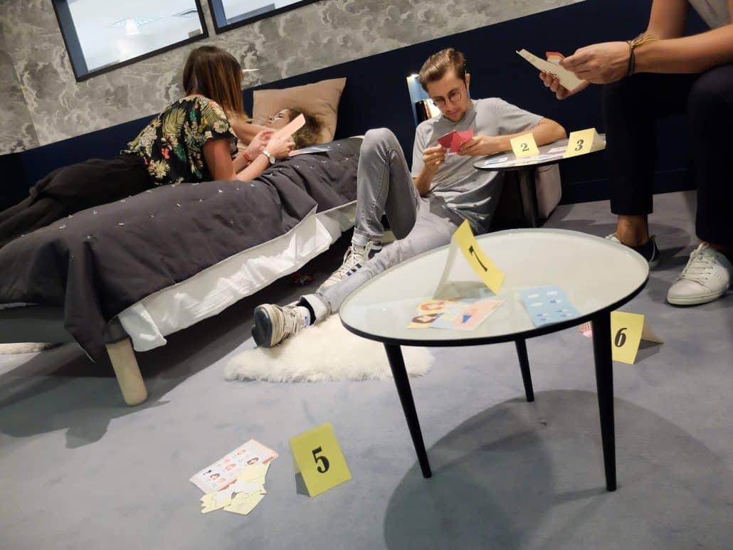 jeu cluedo adultes escape game
