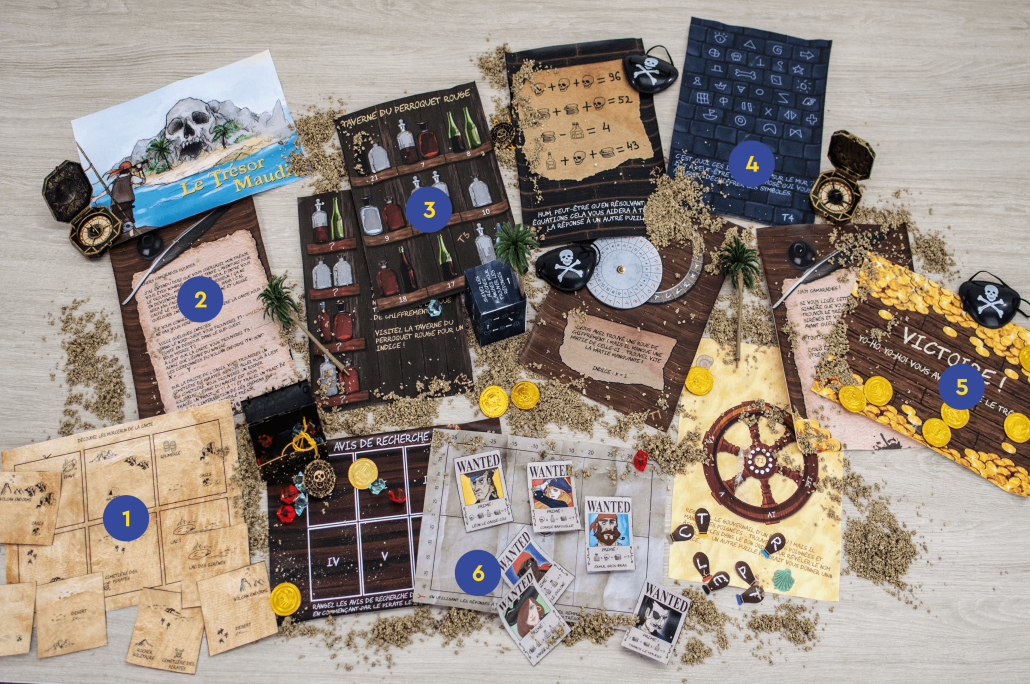 Escape Game pirate pour enfants