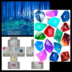 Diamant magique escape game pour enfants