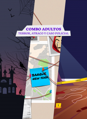 Combo adultos - Escape Room en casa