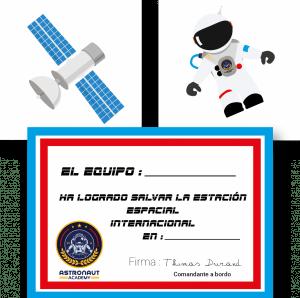 espacio juego astronauta