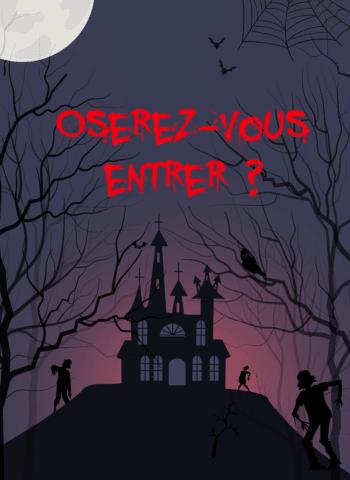 Escape kit jeu maison hantée