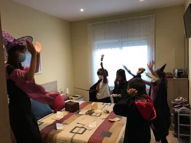 escape room en casa para niños