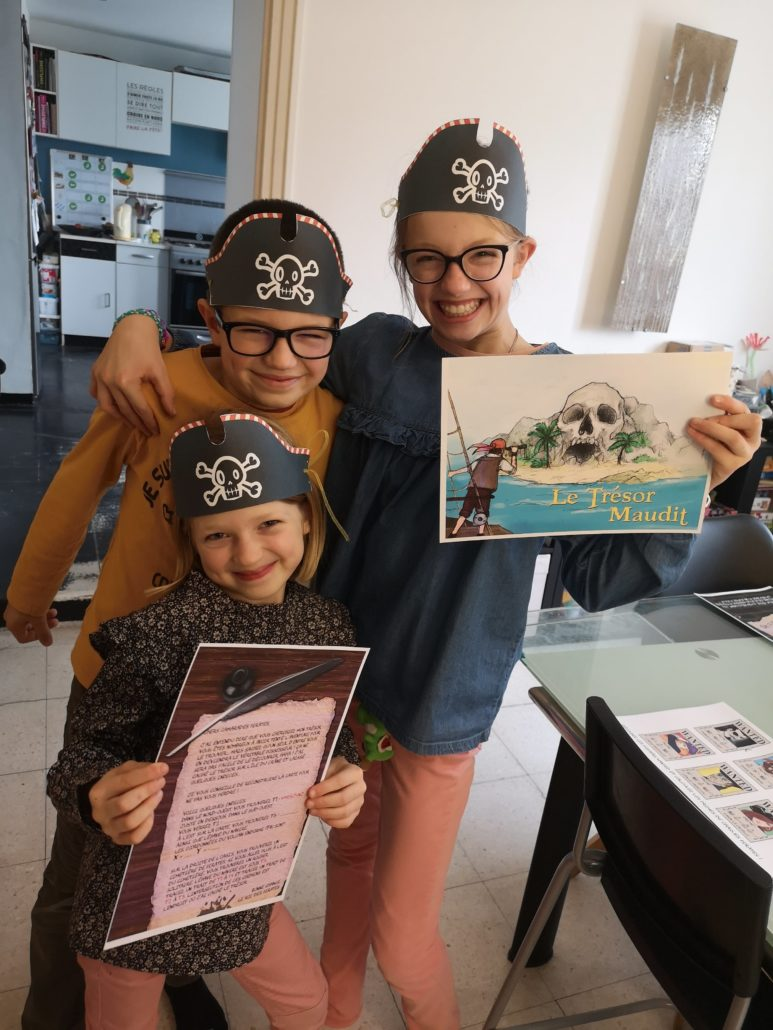 Escape Game jeu pirate maison
