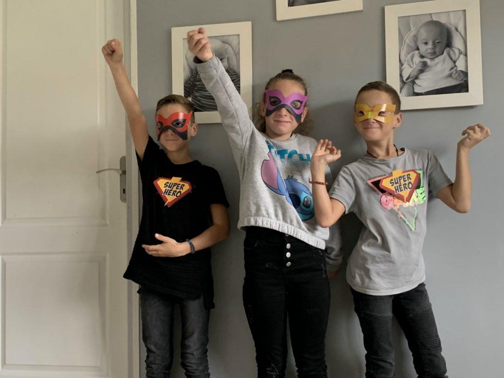 Jeu super heros