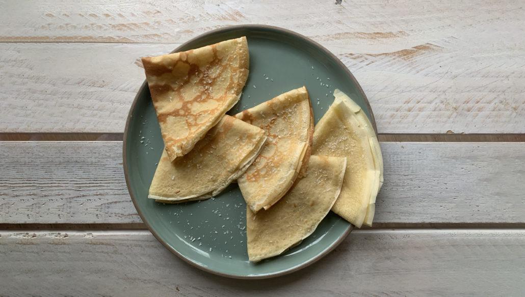 Recette crêpes healthy express