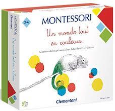 Un monde tout en couleurs - Montessori