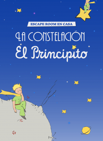 La constelacion del Principito - Escape Room en casa - Escape Kit