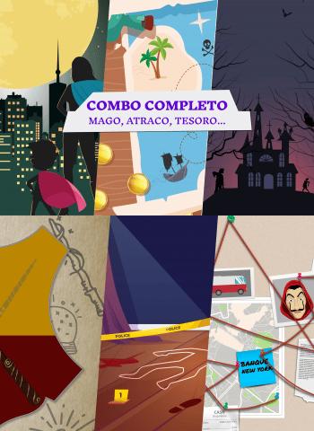 Escape Room Combo Completo - 6 juegos