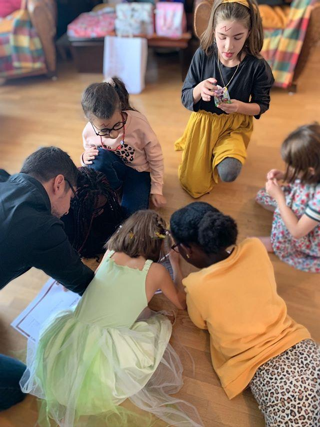 kids birthday activity at-home escape room