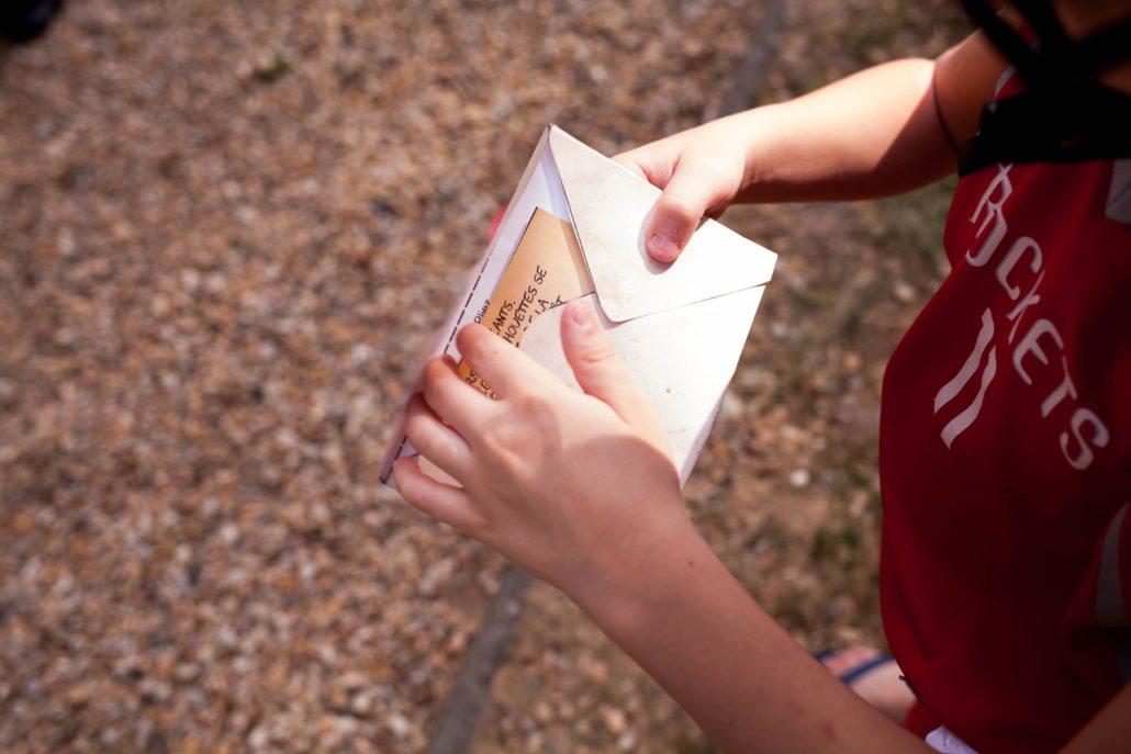 organiser escape game extérieur enfants à imprimer