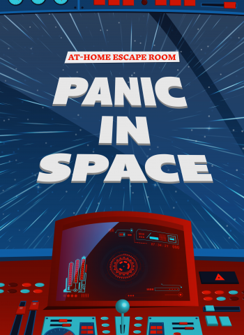 Panic in space - Escape Room to do at home - teens and adults