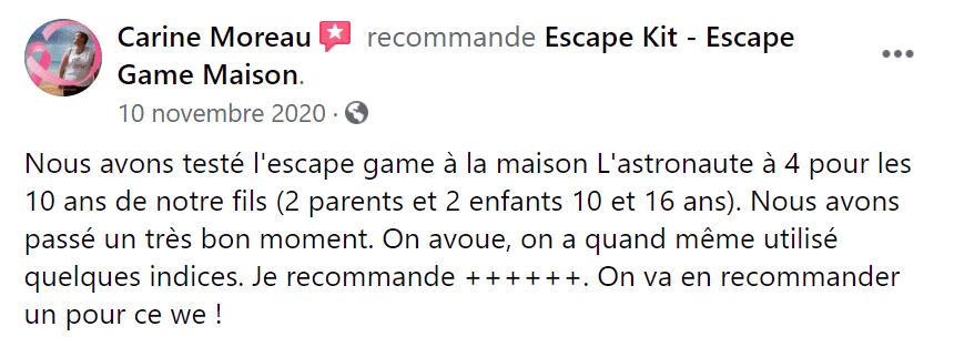 Avis Espace Game