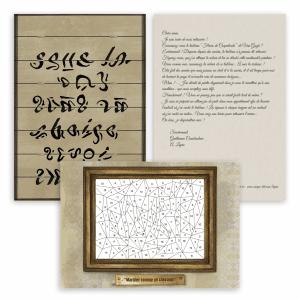 Escape Game à la maison - Arsène Lupin - jeu d'évasion - Escape Kit - Le chef d'oeuvre d'Arsène
