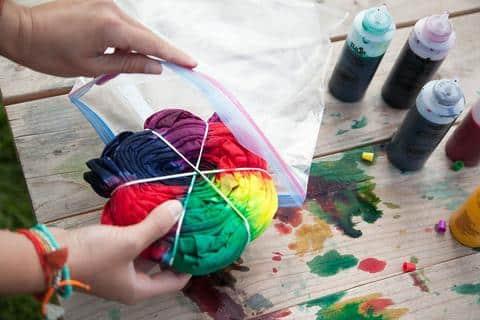 Tie and Dye Activité Enfants