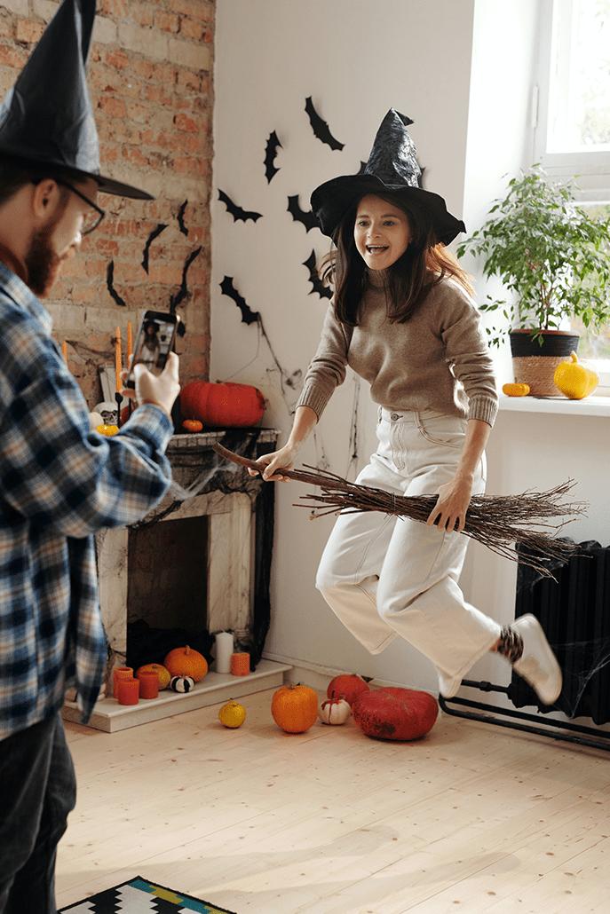 Organiser une soirée Halloween se mettre dans la peau d'une sorcière