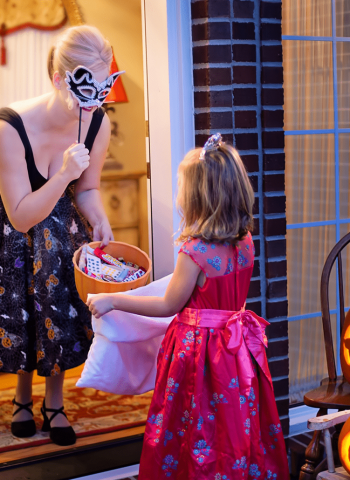 Organiser une soirée Halloween le jardin hanté