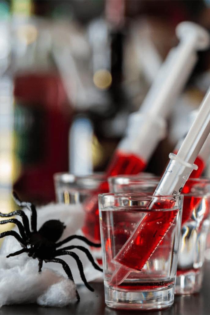 Organiser une soirée Halloween le sirop et la seringue