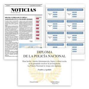 ESCAPE ROOM EN CASA_QUIEN MATO A LA SENORA DUROY_CLUEDO_MURDER PARTY_3